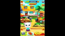 Talking Tom Gold Run Neon Angela Android Gameplay HD #2