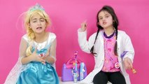 BAD BAD MESSY TOILET Gross Real Food Candy Coke Toys CHECKUP TURNS INTO SURGERY