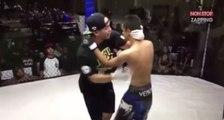 MMA : Au bord du KO, un combattant confond l'arbitre avec son adversaire ! (Vidéo)