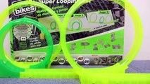 Spin Bikes Motos de juguete y circuito con super looping para niños de Comansi
