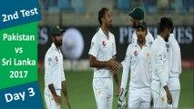 Pakistan v Sri Lanka | 2nd Test | Day 3 | 08 Oct 17 | Azhar Ali & Haris Sohail Hits Fifty| Highlights