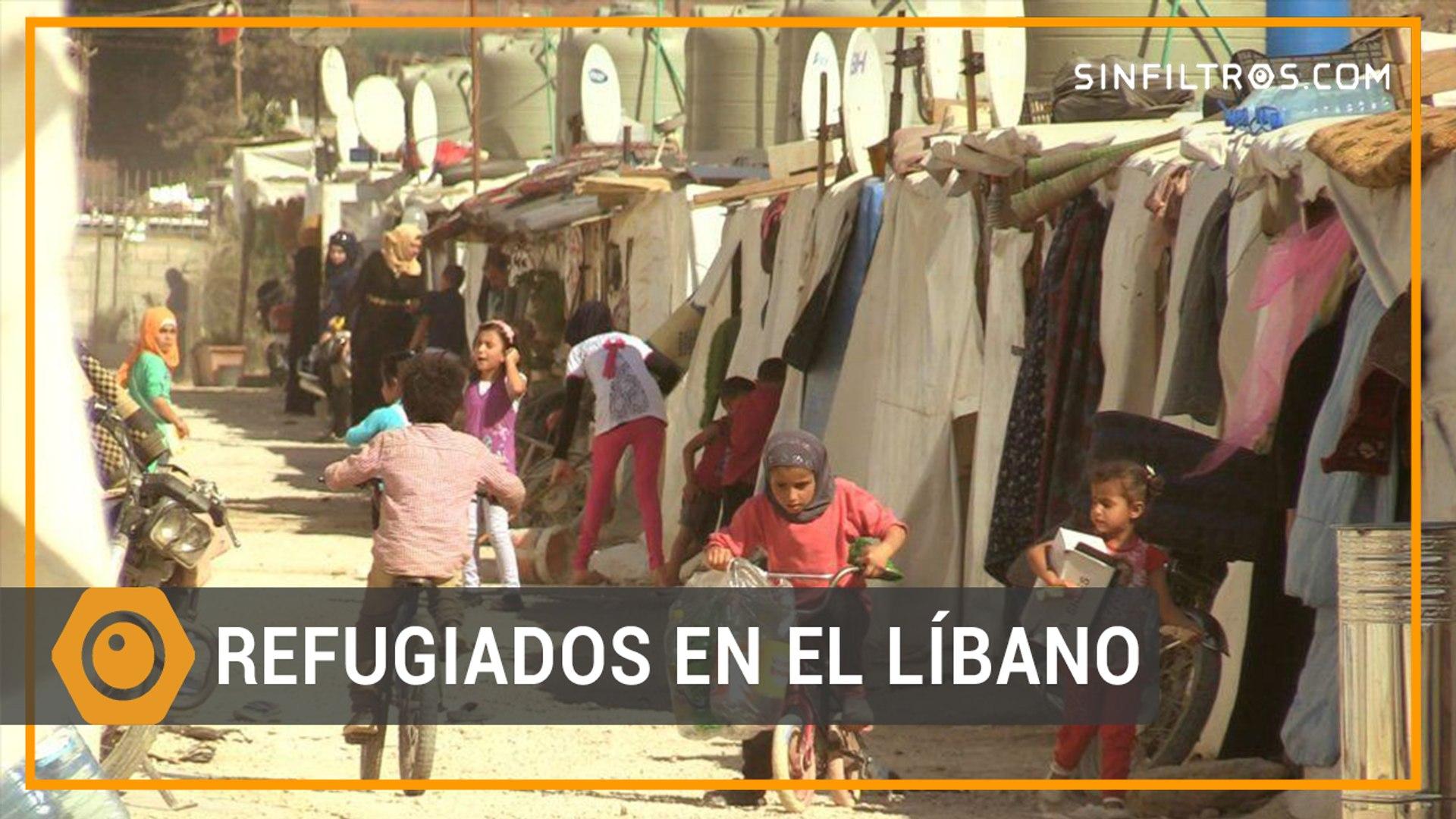 Los refugiados sirios del Líbano   Sinfiltros.com