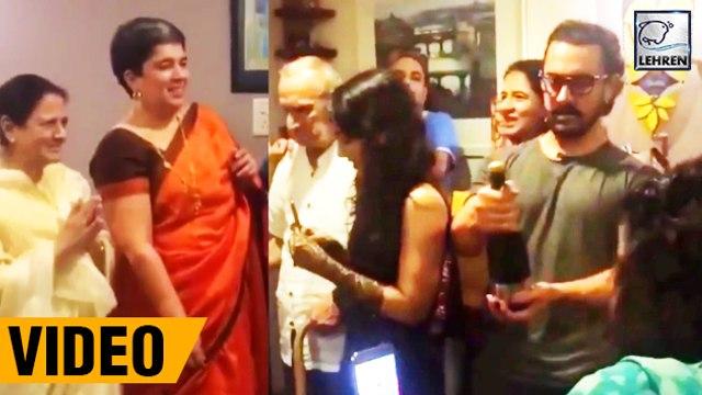 Aamir Khan Celebrates Ex Wife Reena Duttas Birthday
