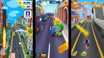 Tom Gold Run VS Bike Racing Bike Blast VS Bus Rush HD comparison