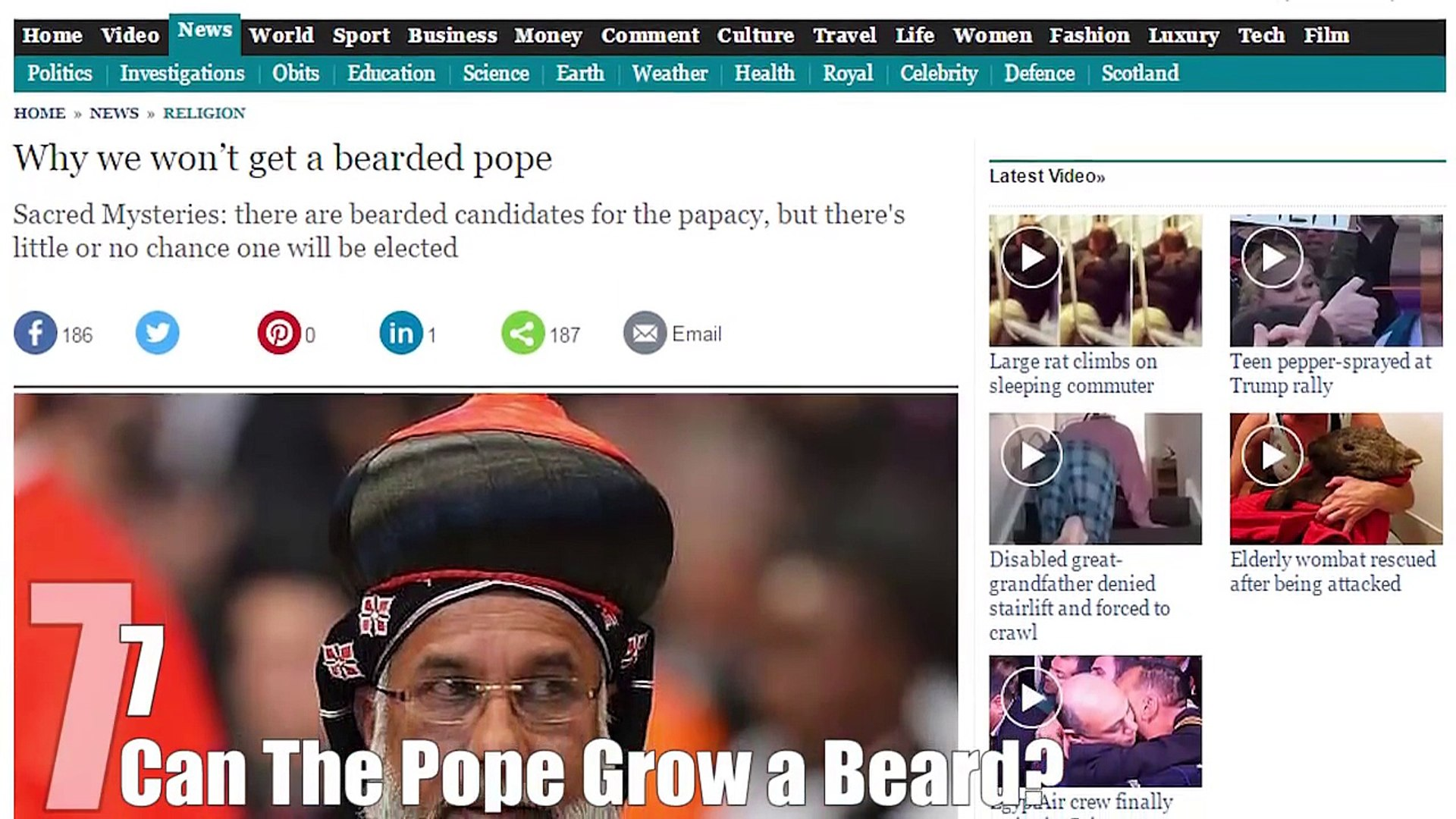 Top 10 THINGS You May Have Wondered About the POPE