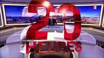 Prises de vues aériennes par drone pour journal télévisé de 20h