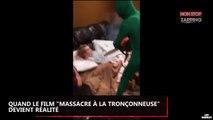 """Quand le film """"Massacre à la tronçonneuse"""" devient réalité (Vidéo)"""