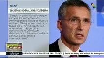 """Stoltenberg dice que OTAN no quiere una """"nueva Guerra Fría"""" con Rusia"""