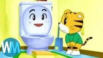 Top 10 Weirdest Anime For Kids