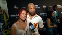 "Derek Fisher & Sharna Burgess Exit ""Dancing With the Stars"""