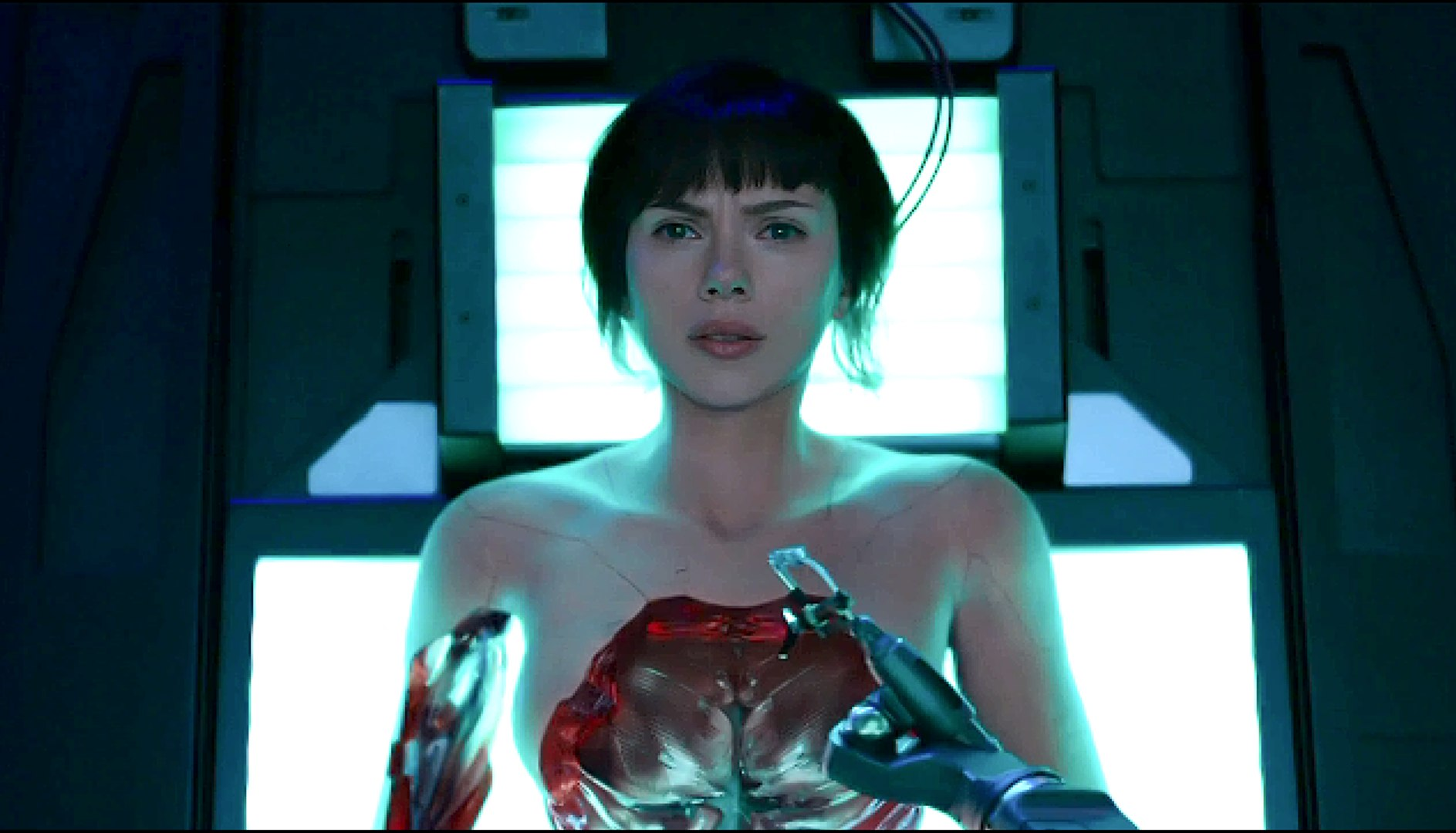 Ghost In The Shell 2017 Body Repair Scene Hd Video Dailymotion
