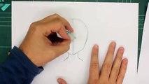 COMO DIBUJAR UN ROSTRO MANGA / COMO DIBUJAR ROSTRO MANGA DE MUJER - How to draw manga