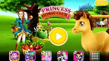 Fun Animal Horse Care - Wash, Dress Up Baby Horse Animal Care - Princess Horse Club 3 Game For Kids