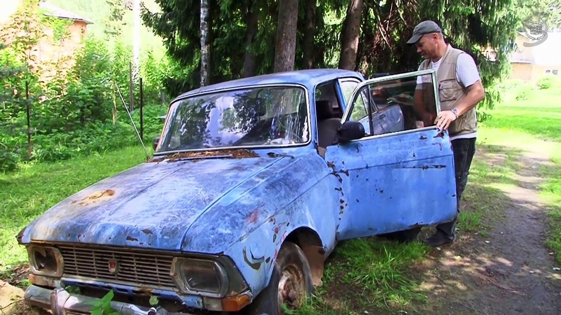 Забытые автомобили / Abandoned Russian cars