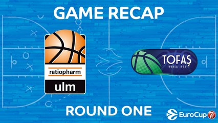 7Days EuroCup Highlights Regular Season, Round 1: Ulm 83-73 Tofas Bursa