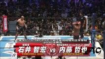 Tetsuya Naito vs Tomohiro Ishii NJPW King Of Pro Wrestling 2017 Highlights
