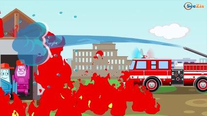Красный Бульдозер в работе Мультики про МАШИНКИ Развивающие мультфильмы для детей