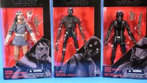 Star Wars Black Series K-2SO, Death Trooper, and Cassian Andor Review Rogue One