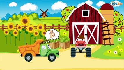 Мультики про машинки - Трактор Павлик - Развивающие и Познавательные Мультики для детей