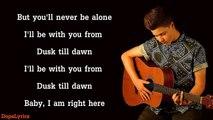 DUSK TILL DAWN - Zayn ft. Sia - Kirsten Collins, Blake Rose, KHS Cover (Lyrics)