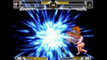 MUGEN KOF Shermie (Transform into Orochi Shermie) Vs  Leona Heidern (Transform into Orochi Leona)