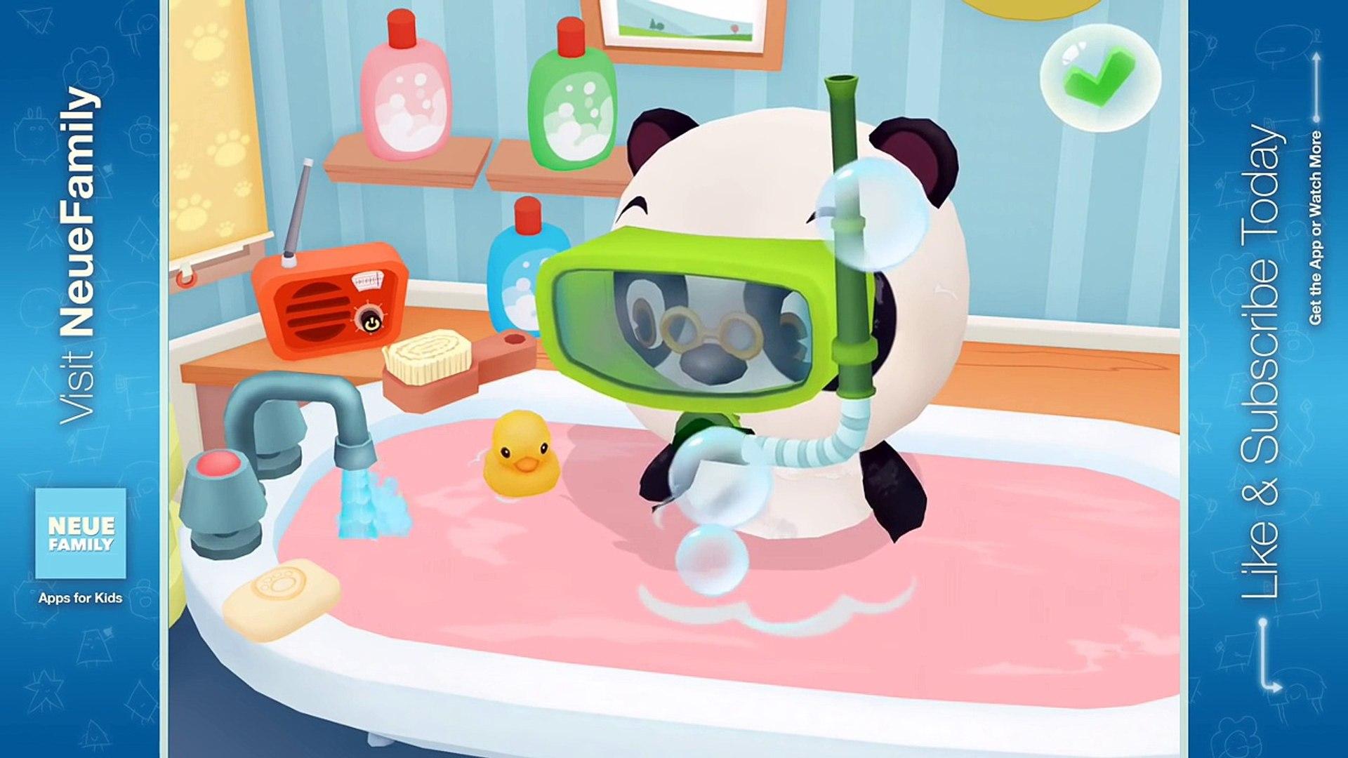 Dr. Panda Bath Time: Activity App for Kids