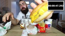 The Entire McDonalds UK SAVER MENU Challenge | BeardMeatsFood