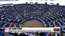 EU extends new sanctions on North Korea