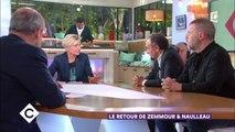 Tension entre Eric Zemmour et Patrick Cohen dans C à vous (10-10-2017)