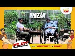 WAZIR | Amitabh Bachchan | Farhan Akhtar | Directed by Bejoy Nambiar