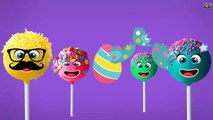 Cake Pop, Ice Cream, Candy, Lollipop and Mega Sweet Finger Family Songs | Daddy Finger Rhymes