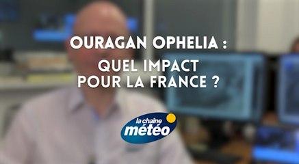 Ouragan OPHELIA : quel impact pour la France ?