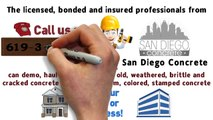 San Diego Concrete Contractors, Colored Concrete San Diego