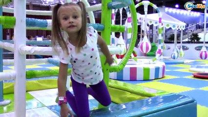 Развлекательный центр для Детей с Прозрачными БАТУТАМИ   Fun Indoor Playground for Kids