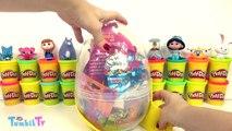 Troller Sürpriz Yumurta Oyun Hamuru - Troller Oyuncak Maşa Aslan Koruyucular