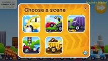 Tow Trucks for kids | Emergency Vehicles - Red Car Trucks - by Duck Moose|Trucks Videos for children