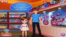 Cute Little Girl First Bike | Fun Little Girls Games Videos | Bike Games for Kids
