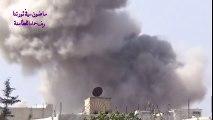 Russian Airstrikes on Al Qaeda/ Al Nusra positions in Syria