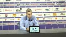 OL : Bruno Genesio répond à Jean-Michel Aulas