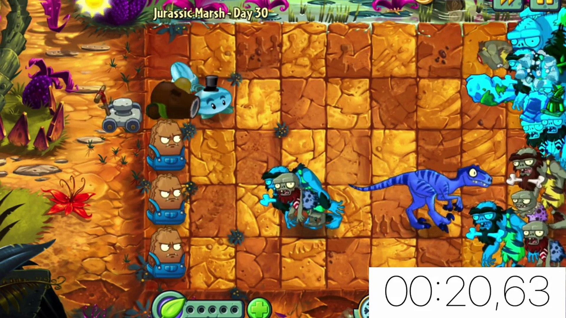 Plants vs  Zombies 2 its about time: FINAL Team Plants vs Jurassic  Gargantuar Part 3