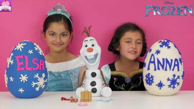 Disney Frozen Videos Elsa and Anna FROZEN PLAY DOH SURPRISE EGGS opening! Shopkins Toys