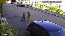 Çocukların Bisiklet Hırsızlığı Kameraya Takıldı