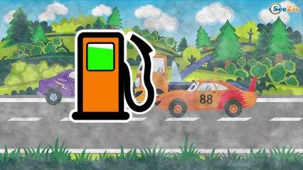 СБОРНИК: Все серии подряд - Эвакуатор помогает машинкам - Развивающие видео для детей