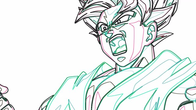 Como Dibujar A Goku Super Saiyan God Kaioken How To Draw Goku Ssj