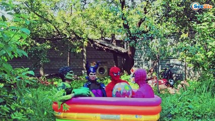 Spiderman turns Into a Baby! w/ Maleficent vs Ironman & Frozen Elsa in REAL LIFE