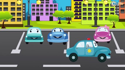 The Police Car Kids Videos Compilation incl The Ambulance   Cartoon For Kids