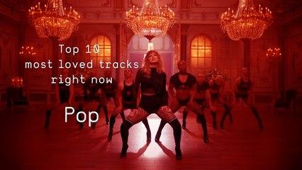 Top 10 Loved Pop Tracks