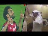 شاهد فرحة جنونية في السعودية والكويت والإمارات وقطر لحظة احراز محمد صلاح هدف صعود مصر لكأس العالم