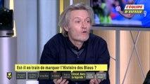 Foot - EDE - Extrait : Giroud est-il en train de marquer l'Histoire des Bleus ?