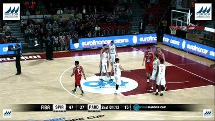 FIBA Europe Cup : Proximus Spirou Charleroi - BK Pardubice